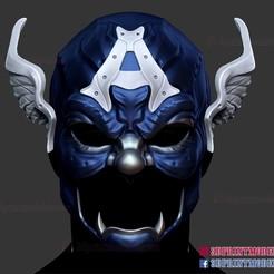 Samurai_Captain_America_helmet_3d_print_model-01.jpg Download STL file Samurai Heroes Captain America Helmet  • 3D printing object, 3DPrintModelStoreSS