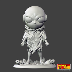 3d printer files Kid Jiren Printable Stl File , pthofantastic