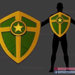 Download 3D model Captain America Hail Hydra Supreme Shield - Marvel Cosplay 3D print model, 3DPrintModelStoreSS