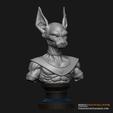STL Beerus STL- Toppo STL - Combo Dragon Ball Super 3D Print Model , 3DPrintModelStoreSS