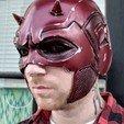 Download 3D printing files Daredevil Helmet Costume Cosplay STL File 3D Print Model, 3DPrintModelStoreSS