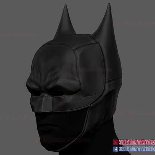 The_Batman_helmet_3d_print_model-02.jpg Download STL file The Batman Helmet - DC Comics Cosplay Mask • 3D printable design, 3DPrintModelStoreSS