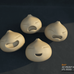 modelo stl Bao STL Full Set - Bao Incredible for Printing - Bao 3D Print Model, pthofantastic