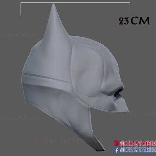 The_Batman_helmet_3d_print_model-14.jpg Download STL file The Batman Helmet - DC Comics Cosplay Mask • 3D printable design, 3DPrintModelStoreSS
