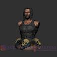 Descargar archivos STL Keanu Reeves Archivos de busto de estatua STL, 3DPrintModelStoreSS
