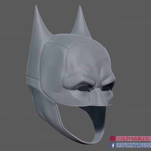 The_Batman_helmet_3d_print_model-12.jpg Download STL file The Batman Helmet - DC Comics Cosplay Mask • 3D printable design, 3DPrintModelStoreSS