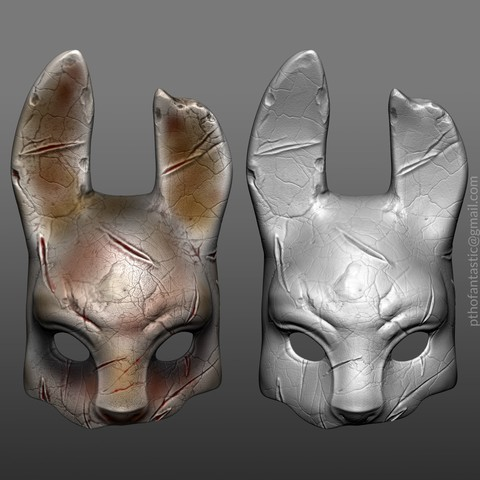 Download STL file Dead By Daylight The Huntress Mask Cosplay Halloween STL File, 3DPrintModelStoreSS