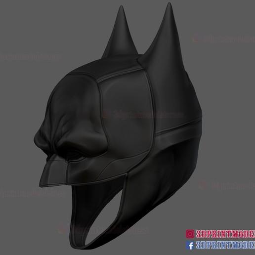 The_Batman_helmet_3d_print_model-05.jpg Download STL file The Batman Helmet - DC Comics Cosplay Mask • 3D printable design, 3DPrintModelStoreSS