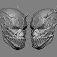 Download 3D printing templates Deadpool x Venom Mask Cosplay Halloween STL File, 3DPrintModelStoreSS