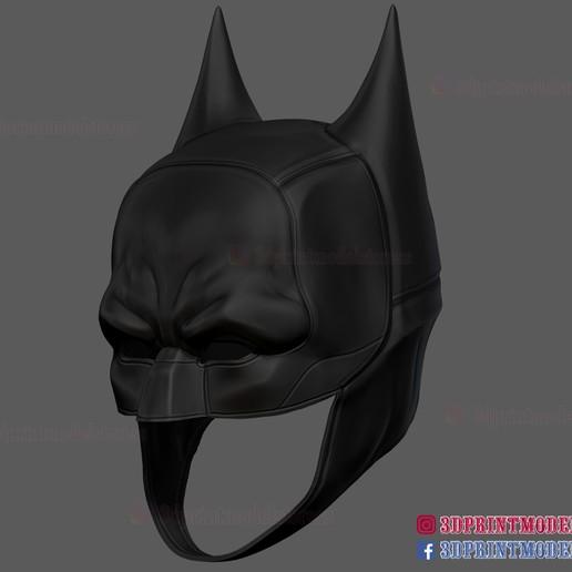 The_Batman_helmet_3d_print_model-04.jpg Download STL file The Batman Helmet - DC Comics Cosplay Mask • 3D printable design, 3DPrintModelStoreSS