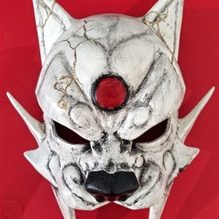 Download 3D printing models Lynx Cosplay Mask - Red Robin Mask - Costume Helmet, 3DPrintModelStoreSS