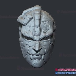 Download 3D printer files Jojo Bizarre Adventure Stone Mask , 3DPrintModelStoreSS
