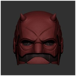 Download 3D printing models Daredevil Mask 3D Printing - Daredevil Helmet, 3DPrintModelStoreSS