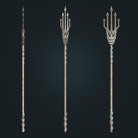 aquaman_weapon_stl_03.png Download STL file Aquaman Trident Cosplay STL files - Costume Weapons 3D Printing • 3D printing design, 3DPrintModelStoreSS