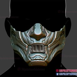 Cyberpunk_Mask_3d_print_model-01.jpg Download STL file Cyberpunk Mask - Japanese Kitsune Cosplay  • 3D printing object, 3DPrintModelStoreSS