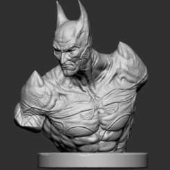 Download 3D printer designs Batman Devil Bust , 3DPrintModelStoreSS