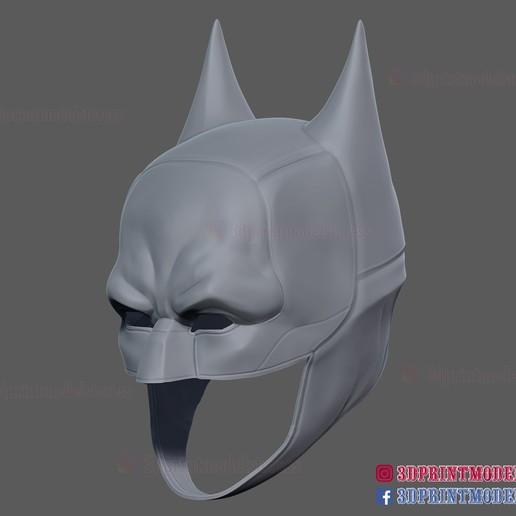 The_Batman_helmet_3d_print_model-12B.jpg Download STL file The Batman Helmet - DC Comics Cosplay Mask • 3D printable design, 3DPrintModelStoreSS