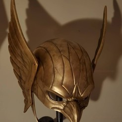 Download STL file Hawkman Helmet DC Comic • 3D print model, 3DPrintModelStoreSS