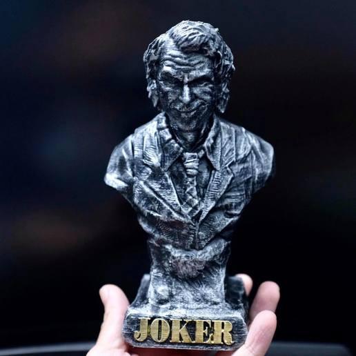 Télécharger fichier impression 3D Joker Heath Ledger Bust Sculpter Modèle d'impression 3D, 3DPrintModelStoreSS