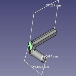 Modèle 3D Poignée de portillon, viyppi