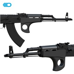 Download 3D printing files AIRSOFT - AK-47 HANDGUARD III, JoseAugusto