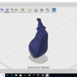 Free Eggplant 3D printer file, monsterpiece