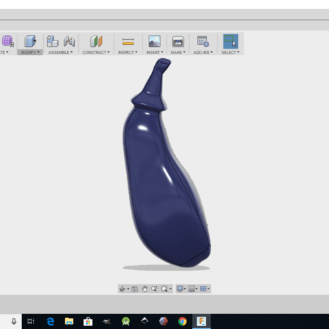 Screenshot (24).png Download free STL file Eggplant • 3D printable object, monsterpiece