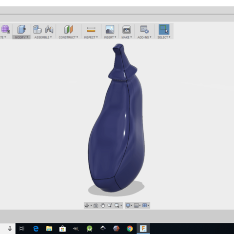 Screenshot (23).png Download free STL file Eggplant • 3D printable object, monsterpiece
