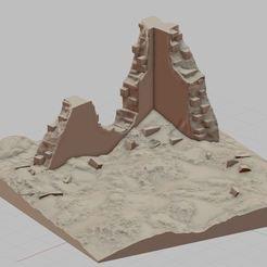 Przechwytywanie.JPG Télécharger fichier STL Rue en ruine • Modèle imprimable en 3D, payo
