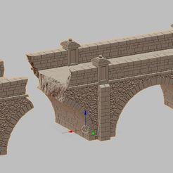 Przechwytywanie.JPG Télécharger fichier STL pont détruit • Plan pour imprimante 3D, payo