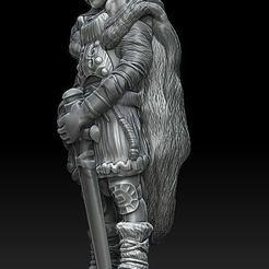 wiking z mieczem.jpg Télécharger fichier STL Viking #1 • Objet pour impression 3D, payo
