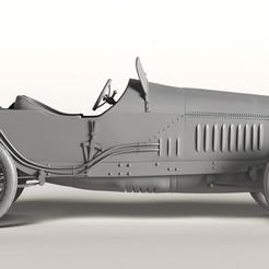 1.jpg Télécharger fichier STL Grand Prix Mercedes 1914 • Design imprimable en 3D, payo