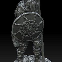 wiking z wlocznia i tarcza.jpg Télécharger fichier STL Viking #2 • Objet pour imprimante 3D, payo