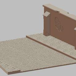 Przechwytywanie.JPG Télécharger fichier STL Rue avec mur #2 • Design pour impression 3D, payo