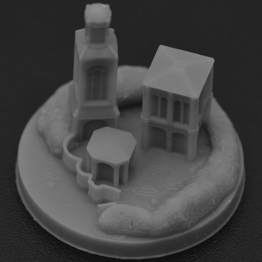 Download 3D printing designs Grey Havens for War of the Ring, payo