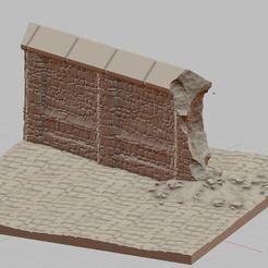 Przechwytywanie.JPG Télécharger fichier STL Mur de briques • Plan pour impression 3D, payo
