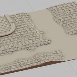 Przechwytywanie.JPG Télécharger fichier STL Rue détruite. • Design à imprimer en 3D, payo
