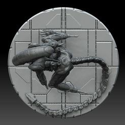 b1.jpg Download STL file Xenomorph #2 • 3D printing object, payo