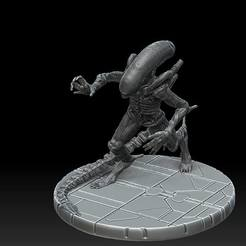 1.jpg Download STL file Xenomorph #1 • 3D printer object, payo