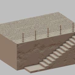 Download 3D model River embankment, payo