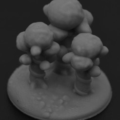 Imprimir en 3D Lorien para la Guerra del Anillo, payo