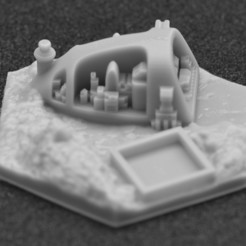 miasto 8.jpg Download STL file Terraforming Mars Generic City 8 • 3D printer model, payo
