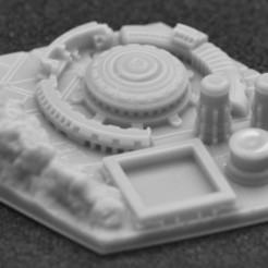 miasto 1.jpg Download STL file Terraforming Mars Generic City 1 • Template to 3D print, payo