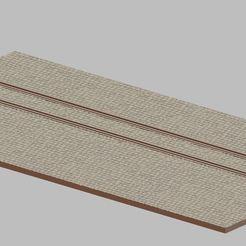 Przechwytywanie.JPG Télécharger fichier STL Rue avec rails #2 • Plan à imprimer en 3D, payo