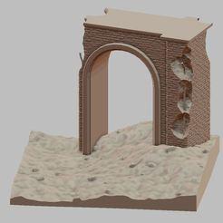 Przechwytywanie.JPG Télécharger fichier STL Un pont en ruine • Plan imprimable en 3D, payo