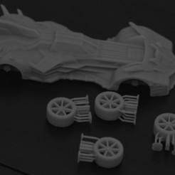 batmobil 3.jpg Download STL file Batmobile #3 • Design to 3D print, payo