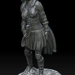 wiking panna.jpg Télécharger fichier STL Viking #3 Femme • Plan pour impression 3D, payo