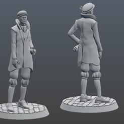"""ambassador.jpg Télécharger fichier STL Agents des """"Lords of Waterdeep"""" (seigneurs des eaux) • Modèle pour imprimante 3D, payo"""