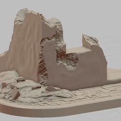 Przechwytywanie.JPG Télécharger fichier STL La ruine du coin • Modèle imprimable en 3D, payo