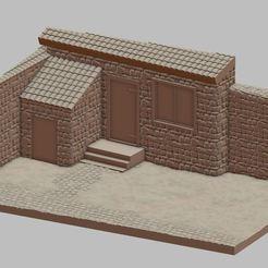 Przechwytywanie.JPG Download STL file Italian village • 3D printable object, payo
